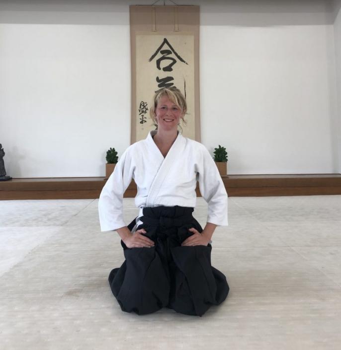 Trainen in de Hombu Dojo Japan