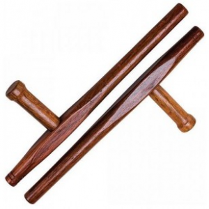 Tonfa Hout Rond